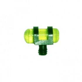 Πράσινο φωσφορούχο στόχαστρο με βίδα και σπείρωμα 2,6mm  / 3,5mm