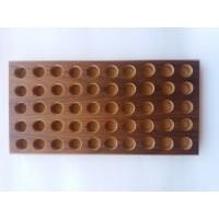 Βάση για Κάλυκες Φυσιγγίων 50 τεμαχίων (MDF-ΚΑΡΥΔΙΑ) CAL 12