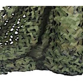 Δίχτυ Παραλλαγής Σκίασης-Φυλάχτρα  Πράσινο-Καφέ ( 3m x 1,5m)