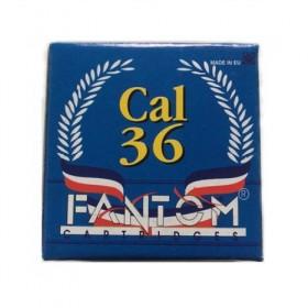 Fantom φυσίγγια  cal 36 10gr(Α1)