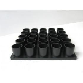 Πλαστική βάση για κάλυκες 25 τεμαχίων