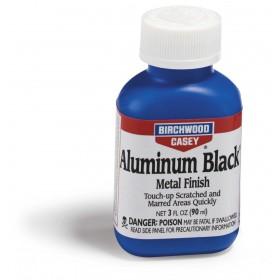 Βαφή Αλουμινίου Birchwood Casey σε μαύρο μεταλλικό φινίρισμα