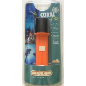 Φακός καταδυτικός Megaland Coral Lite 4AA