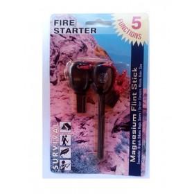 FIRE STARTER (5 FUNCTIONS) μέ πυξίδα