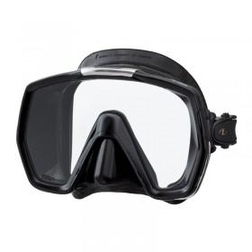 Μάσκα κατάδυσης  μαύρη σιλικόνη FREEDOM HD