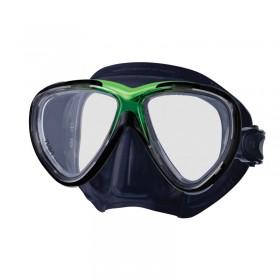 Μάσκα κατάδυσης μαύρη σιλικόνη FREEDOD ONE