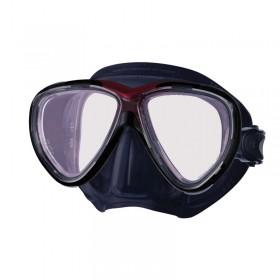 Μάσκα κατάδυσης μαύρη σιλικόνη FREEDOM ONE PRO
