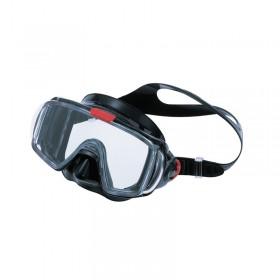 Μάσκα κατάδυσης  μαύρη σιλικόνη VISIO TRI-EX
