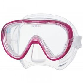 Μάσκα κατάδυσης με διάφανη σιλικόνη TINA