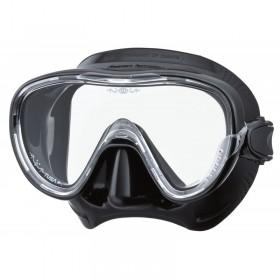 Μάσκα κατάδυσης με μαύρη σιλικόνη TINA