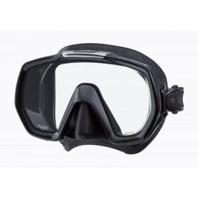 Μάσκα κατάδυσης μαύρη σιλικόνη FREEDOM ELITE