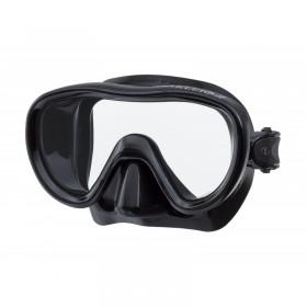 Μάσκα κατάδυσης μαύρης σιλικόνης KLEIO II