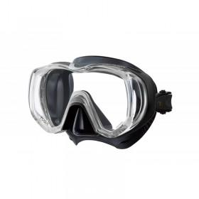 Μάσκα κατάδυσης με μαύρη σιλικόνη FREEDOM TRI-QUEST