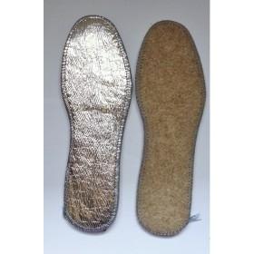 Πάτοι παπουτσιών μάλλινοι μέ αλουμίνιο