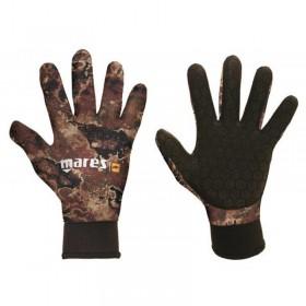 Γάντια κατάδυσης MARES CAMO BROWN 30