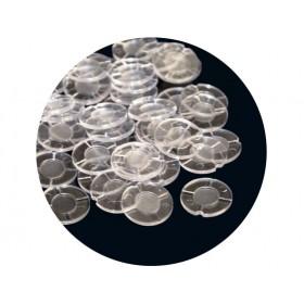 Τάπες πλαστικές για δράμια Gualandi Cal 12