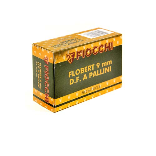 Φυσίγγια για Flobert Cal 9mm Fiocchi 50τεμ.
