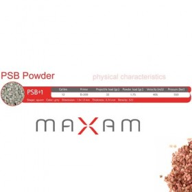 PSB+1 Πυρίτιδα Κυνηγίου MAXAM  (½Kg και 1kg)