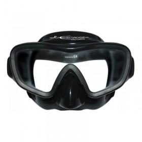 Μάσκα κατάδυσης μαύρη E-Visio 3