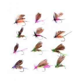 Μύγες ψαρέματος σε διάφορους τύπους