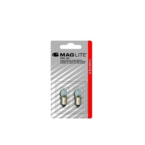 Λαμπάκια Crypton για φακούς Maglite 3 μπαταριών C ή D