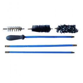Σέτ καθαρισμού όπλου με 3 βούρτσες ατσαλινη σε κασετίνα CAL-12